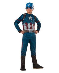 Lizenziertes Captain America Civil War Kinderkostüm Größe: S