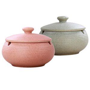 2 Stück Keramik Aschenbecher Mit Deckel Zigarren Aschenbecher Mit Wassertank Geburtstagsgeschenke
