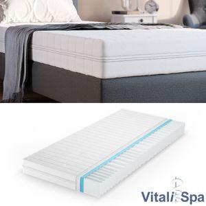 VitaliSpa Calma Comfort Plus Premium Marken Kaltschaum 7 Zonen Schaum Matratze 90x200 H2