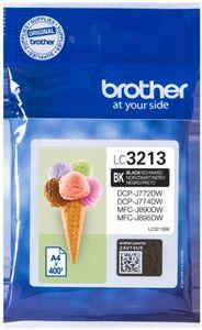 Brother  LC3213BK Schwarz  Original Tinte 400 Seiten
