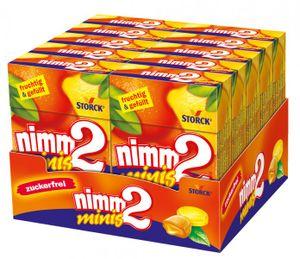 Nimm 2 Minis Bonbons Zuckerfrei 10 x 40 g