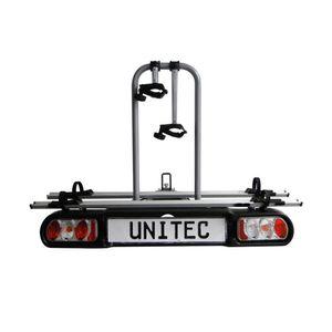 Unitec Kupplungs-Fahrradträger Alu-Atlas, Beleuchtung mit 13-poligem Stecker