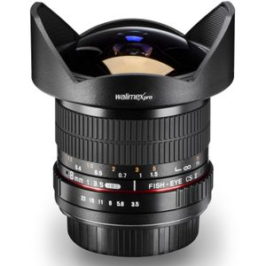 Walimex pro 8 mm 1:3.5 Fish-Eye II, 10/7, Canon EF-S