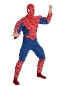 Spiderman Muskelkostüm für Superhelden