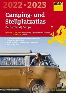 ADAC Camping- und StellplatzAtlas Deutschland/Europa 2022/2023
