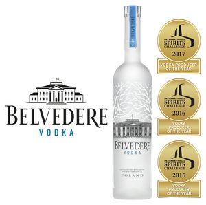 Belvedere Vodka Distilled and Bottled in Poland | 40 % vol | 0,7 l