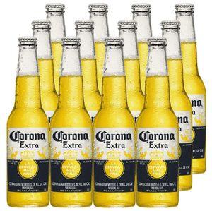 Extra Mexikanisches Bier inkl. Pfand - 12x 355ml (4,5% Vol) -[Enthält Sulfite] - Inkl. Pfand MEHRWEG