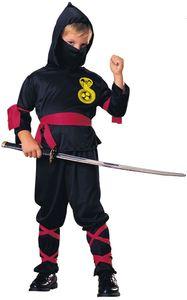RUBIE'S Faschingskostüm Ninja 6tlg., Größe L, Farbe original