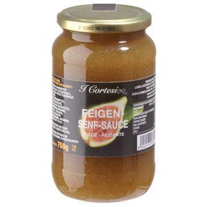Cortesi Feigensenfsauce aus leckeren Feigen Dolce Piccante 750g
