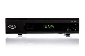 XORO HD DVB-S2 Receiver HRS8660, PVR Ready, Farbe: Schwarz