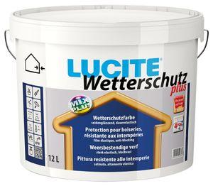 Lucite Wetterschutz plus 2,5 Liter dunkelbraun 1089T