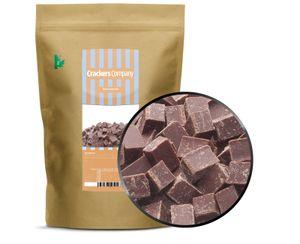 Dark Chocolate Cube - Zartbitter Würfelschokolade - ZIP Beutel 500g