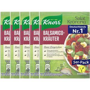 Knorr Salatkrönung Balsamico Kräuter Salatdressing 5x 11g 5er 5er Pack