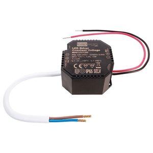 Deko-Light LED Schaltnetzteil Mini in Schwarz 12V 12W IP65