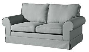 Max Winzer Hillary Sofa 2-Sitzer inkl. Zierkissen - Farbe: grau - Maße: 172 cm x 89 cm x 85 cm; 2890-2100-1645216-KUN
