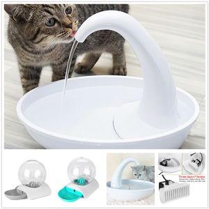 2.36L Trinkbrunnen Wasserspender Hunde Katzenbrunnen mit Filter Automatischer
