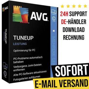 AVG TuneUp 2021   1 Gerät   1 Jahr   Vollversion   Versand per E-Mail