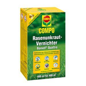 COMPO Rasenunkrautvernichter Banvel Quattro - 400 ml