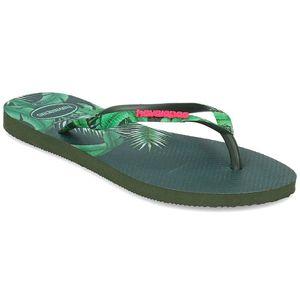 havaianas Slim Sensation Damen Zehentrenner Grün Schuhe, Größe:37-38