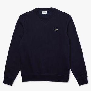 Lacoste Fleece-Sweatshirt Herren Dunkelblau (SH1505 423) Größe: 5 (L)