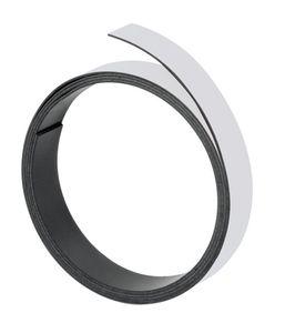 Magnetband, 100 cm x 20 mm, 1 mm, grau