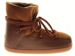 Inuikii Classic Low Damen Schuhe Boots Braun Leder, Größe:39