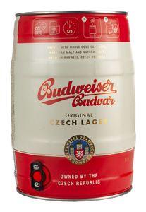 Budweiser Budvar 5% 5,0L Fass