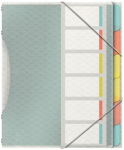 Esselte Ordnungsmappe Colour'Ice A4 PP 6 Fächer