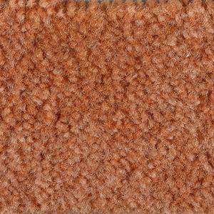 Teppichboden, Auslegware, Meterware, 500 cm x 650 cm, orange, Schlinge