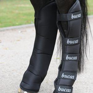 Bucas Transportgamaschen 2000 Boots Black/black, Größe:Vollblut (M)
