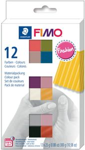 "FIMO SOFT Modelliermasse-Set ""Fashion"" 12er Set 12 Blöcke à 25 g"