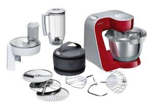Bosch MUM58 Küchenmaschine, Farbe:Rot