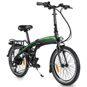 FAFREES 20F055 Faltbares E-Bike Elektrofahrrad Montainbike Citybike Fahrrad Elektrofahrräder 250W 20 Zoll LCD Dispaly 7-Gang Getriebe 25KM / H