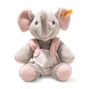 Steiff 241666 Trampili Elefant | 24 cm grau/rosa