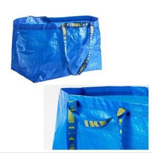 10x FRAKTA Einkaufs Trage Tasche XL blau 71L (bis 25kg) Ikea Leergut Umzug NEU