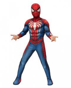 Spider Man Kinder Muskelkostüm für Kinderfasching & Halloween Größe: L