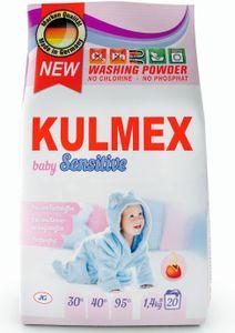 KULMEX® - Sensitive Vollwaschmittel Pulver, 16er Pack (1 x 320 Waschladungen) 0,12 EUR/ Waschladung