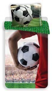 Fußball Kinder Bettwäsche 2tlg SET 135-140x200 Baumwolle Jugend