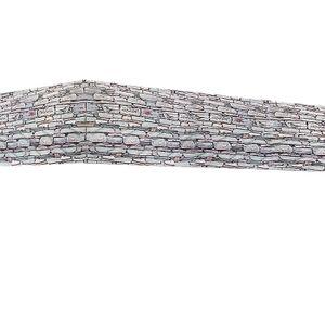 Sichtschutz Balkon Terrasse Windschutz Markise Balkonsichtschutz Schutzzaun, Nachbildung:Stein