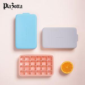 Eiswürfelform Rechteck Silikonform Deckel Eiswürfelform Rechteck Silikonform Deckel Eiswürfel Eiswürfelbehälter Ice Cube 1 x Rechteck Pink/Pink