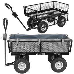 Gartenwagen Transportwagen für Alle Untergründe Geeignet Transportkarre Gartenwagen 9038