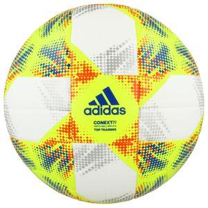 adidas CONEXT 19 TOP TRAINING FIFA Fußball Ball Gelb, Größe:4
