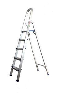 Haushaltsleiter 5 Stufen Klappleiter Leiter Stehleiter Trittleiter Bockleiter