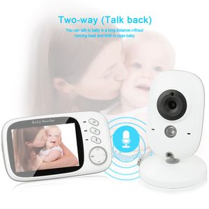 Babyphone mit Kamera - Wireless Video Baby Monitor für Digital dual Audio Funktion VOX Nachtsicht Gegensprechfunktion 3.2