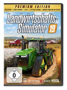 Landwirtschafts-Simulator 19 (Premium Edition) - CD-ROM DVDBox