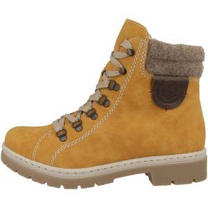 rieker Damen Winterstiefel Gelb Schuhe, Größe:39