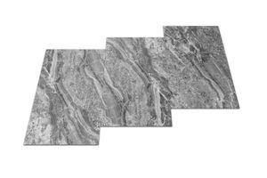 Fliesen Vinyl selbstklebend 30,48 x 60,96 cm 24er Set Grau Marmor Optik 4,46 m² Designboden 15,69€/m²