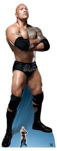 WWE - Wrestling - Rock, The - Star VIP - Pappaufsteller Standy - 74x195 cm