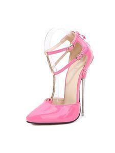 Abtel Frauen y Supper High Heels Sandalen Atmungsaktiv,Farbe:Pink,Größe:39