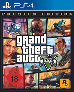 Grand Theft Auto V (Premium Edition) - Konsole PS4